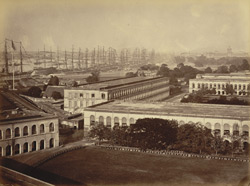 Calcutta. The Fort & the River Hooghly